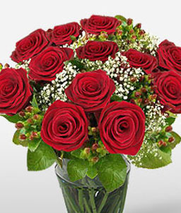 Acapulco Allure-Red,Rose,Arrangement