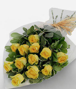 El Dorado-Yellow,Rose,Bouquet