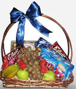 Bahia Indulgence-Fruit,Gourmet,Basket,Hamper