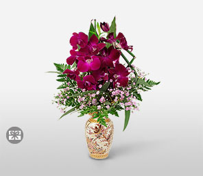 Orient Express-Purple,Orchid,Arrangement