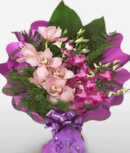 Paparazzi-Pink,Purple,Lily,Bouquet