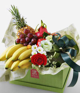 Royal Bounty <Br><Font Color=Red>Mixed Fruit Hamper</Font>