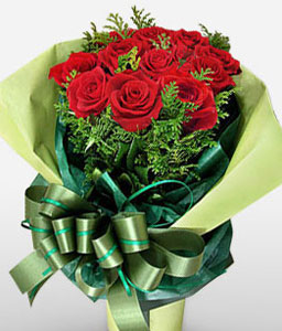 Hainan Island-Red,Rose,Bouquet