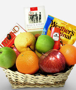 Triple Treat-Fruit,Gourmet,Hamper