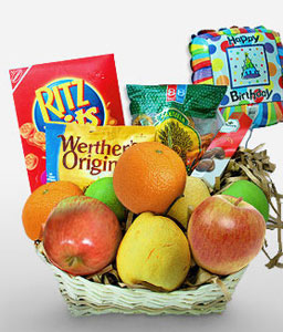 Extravagant Surprise-Fruit,Gourmet,Basket,Hamper