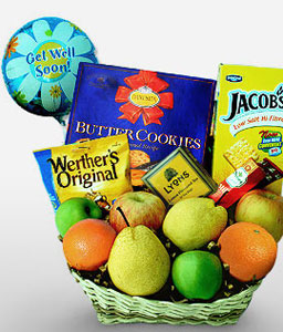 Wishing Well-Fruit,Gourmet,Arrangement,Hamper