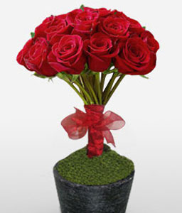 Elegance Imperiale-Red,Rose,Arrangement