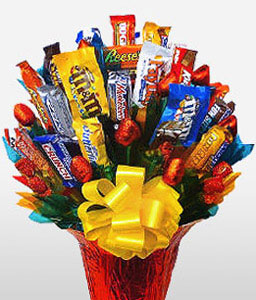 Chocolate Heaven - Gift Hamper-Chocolate,Basket,Hamper