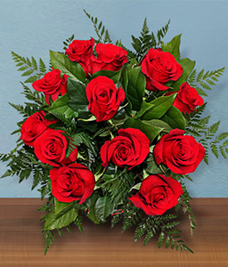 Sparkling Rubies <Br><Font Color=Red>12 Red Roses + 6 Free </Font>