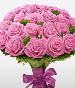 Sensational Pink Roses-Pink,Rose,Bouquet