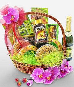 Sweet Indulgence-Chocolate,Wine,Hamper