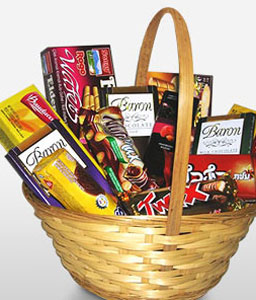 Mothers Day Gift-Chocolate,Basket,Hamper