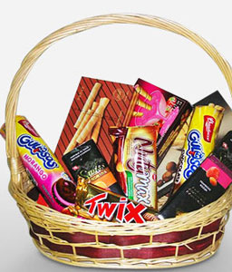Chocolate Fantasy-Chocolate,Basket,Hamper