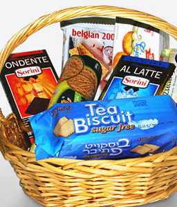 Health Break-Chocolate,Basket,Hamper