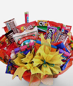Royal Refreshment-Chocolate,Gourmet,Basket,Hamper