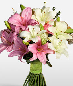 Happy Lilies