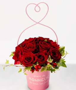Hirosaki Blossoms <Br><Font Color=Red>One Dozen Red Roses - Sale $20 Off</Font>