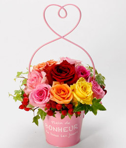 Nara Charisma <Br><Font Color=Red>Bright Yellow Roses - Sale $10 Off</Font>