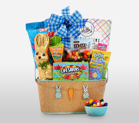 Happy Easter Hamper Send Easter Gift Baskets Online Online Gifts Usa To United States