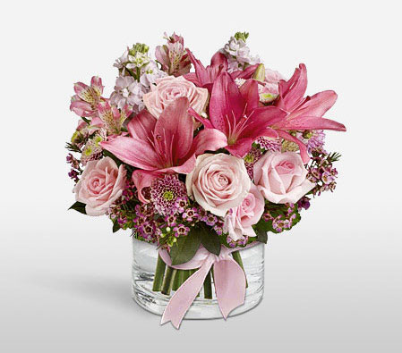 Pink Arena Complimentary Vase