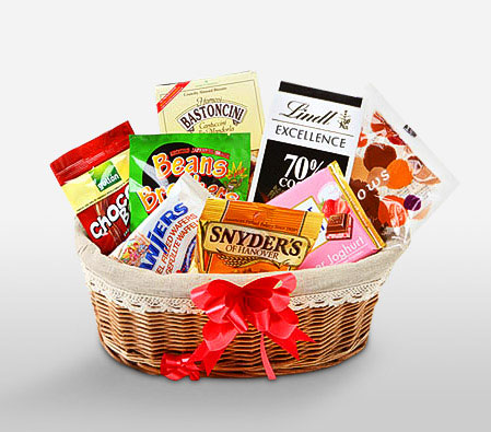 Gourmet Gift Hamper-Chocolate,Basket