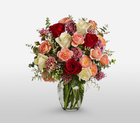 Classic Romance <Br><Font Color=Red>Complimentary Vase</Font> <Br>