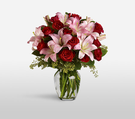 Love And Romance <Br><Font Color=Red>Complimentary Vase</Font>