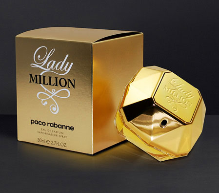 Paco Rabanne Lady million - 80 ML<br><font color=red>For  Her</font>