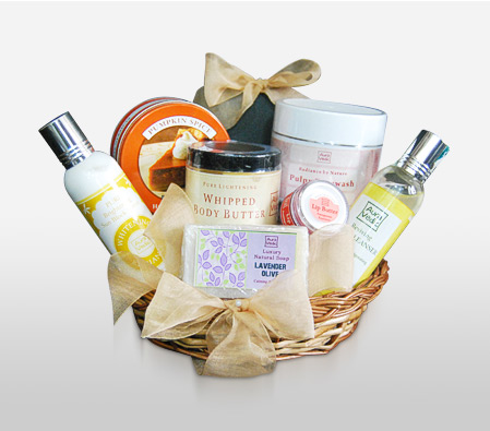Rejuvenating Spa Hamper