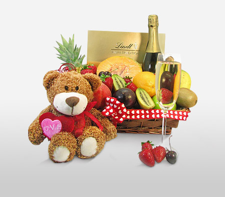 Exotic Indulgence Basket