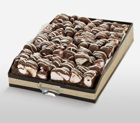Delicious Rocky Road Slices - 10 Slices