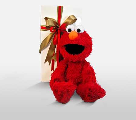 Elmo In Red