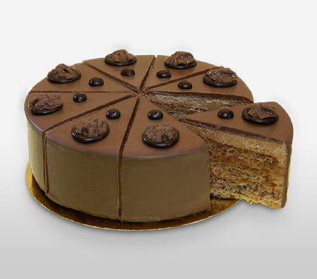 Enticing Hazelnut Cake 500 gms
