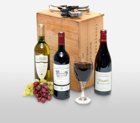 Jolly Wine Hamper <Font Color=Red>Sale $10 Off </Font>
