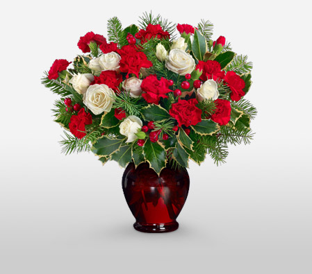 Red Christmas Flowers <br><span>Sale $5 Off</span>