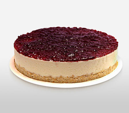 Cheesecake with berries 1 kg