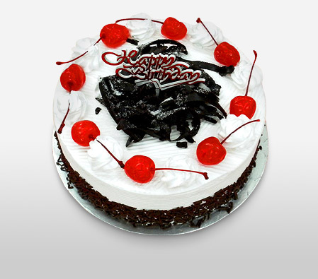 Black Forest Birthday Cake