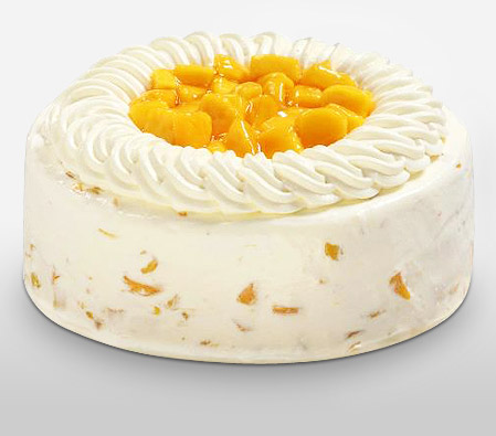 Mango Cake 8 Inches