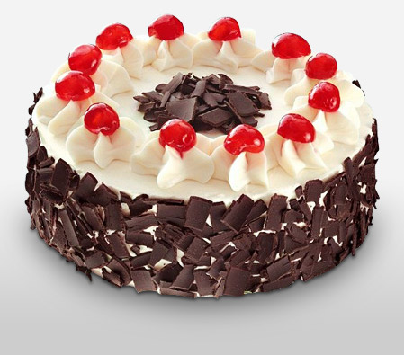 Black Forest Cake 8 Inches To Philippines Flora2000