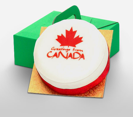 Fruit Cake - Canada Greetings Cake 1 Kg