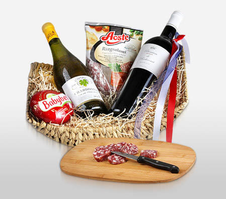 French Gourmet Basket