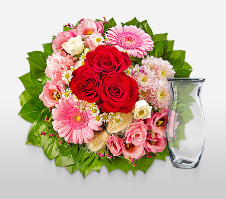 Sweet Sentiments<Br><Font Color=Red>Mixed Flowers Bouquet</Font>