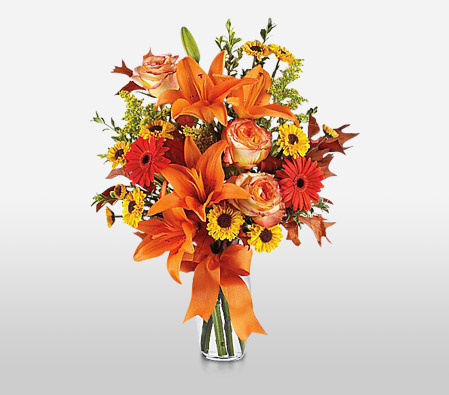 Autumn Spell <br><font color=red>Complimentary Vase</font>