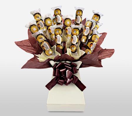 Ferrero Rocher Bouquet To United Kingdom Flora2000