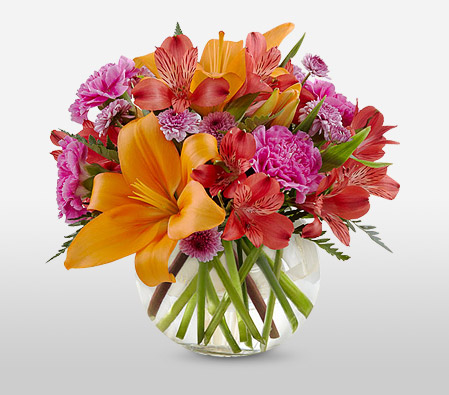 Spread Happiness <Br><span>Colorful Mixed Flower Arrangement</span>