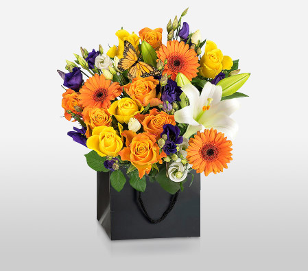 Mixed Flowers For Loved Ones