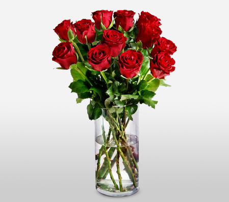 Deep Love - A Dozen Red Roses