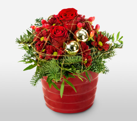 Christmas Roses - Free Chocolates