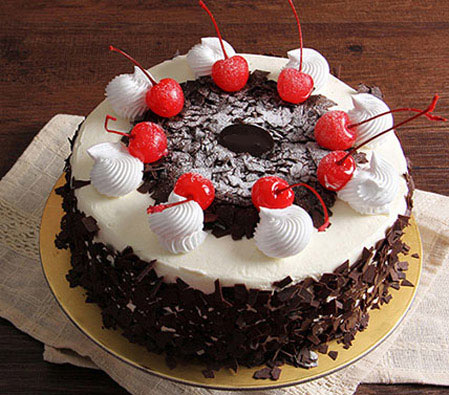 Superb Blackforest Birthday Cake Send Chocolate Cakes Online Same Day Personalised Birthday Cards Epsylily Jamesorg