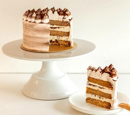 Awesome 5In Round Tiramisu Cake Send Birthday Cakes Online Singapore Funny Birthday Cards Online Inifodamsfinfo